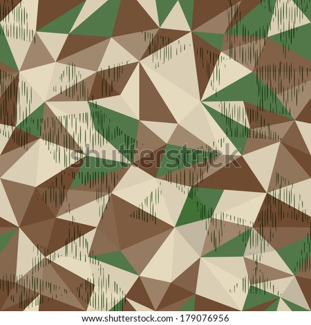 splinter camo  geometric