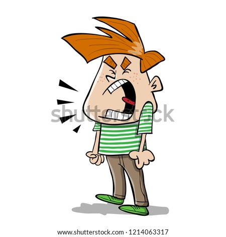 Anger Clipart Frown Angry Boy Clipart Stunning Free Transparent Png Clipart Images Free Download