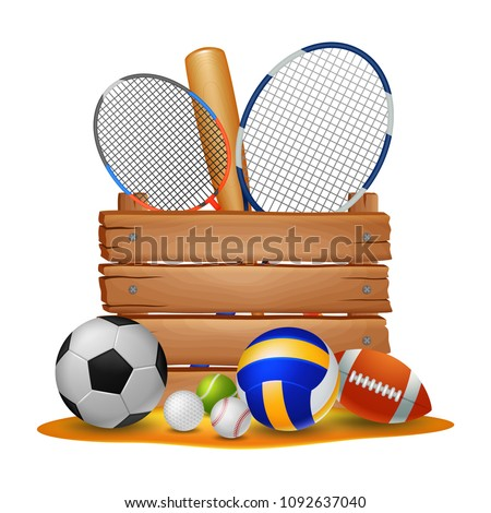 sport background . vector illustration