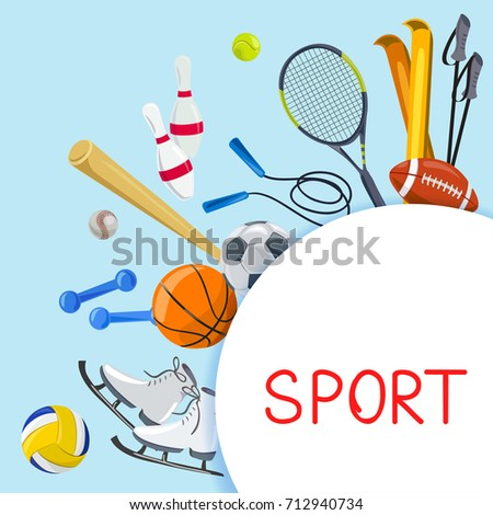 sport background. vector illustration