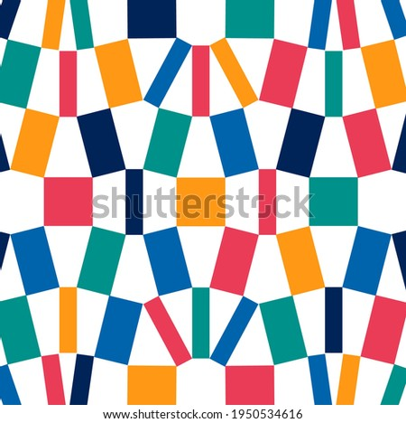 Sport background with modern and traditional elements 2020,  symbols with bold geometric shapes, useful for web background, poster art design, magazine front page, hi-tech print, cover artwork.