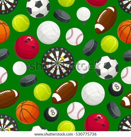 sport ball pattern vector