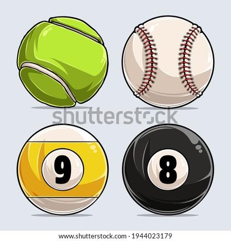 sport balls collection