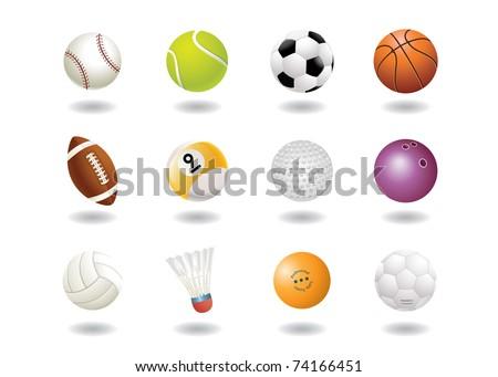 sport balls icon