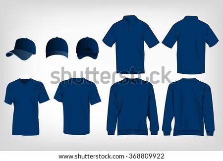 sport blue t shirt  sweater