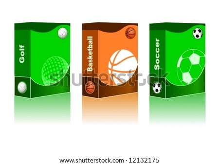 Sport box Golf, Basketball, Soccer Ball