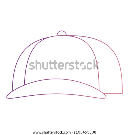 sport cap isolated icon