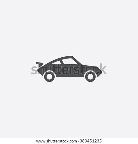 sport car icon sport car icon