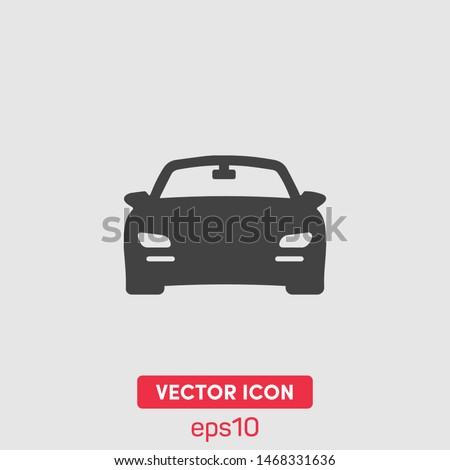 Sport car vector icon illustration. Premium quality.