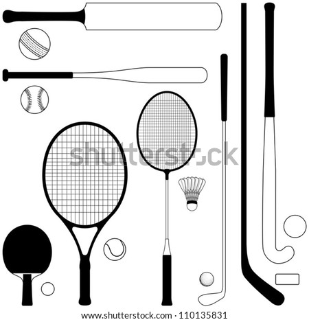 Sport collection - vector illustration