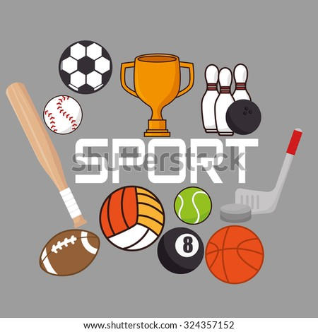 sport concept icon design, vector illustration eps10 graphic