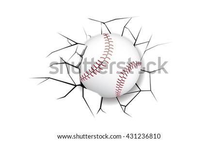 sport crack baseball