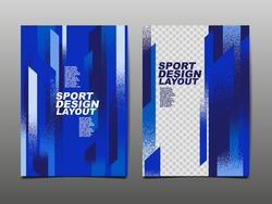 Sport Design Layout ,template Background, Dynamic Poster, Brush Speed Banner, Vector Illustration.