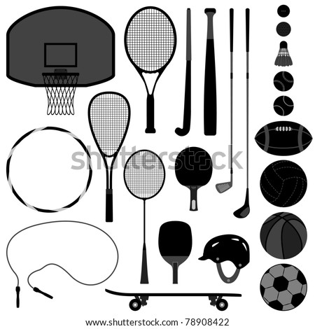 Sport Equipment Tool Basketball Tennis Badminton Football Soccer Rugby Hockey Baseball Volleyball Squash Golf Ball