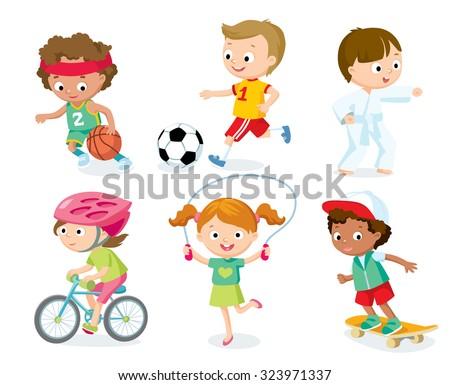 sport for kids including