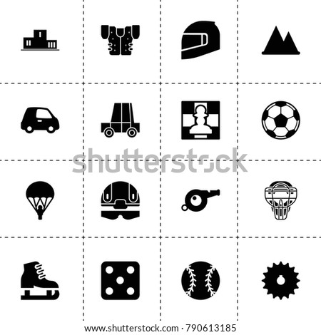 sport icons vector collection