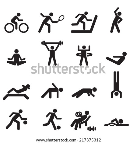 sport icons vector files