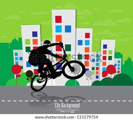 Sport illustration. Vector