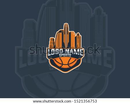 sport logo basketball los