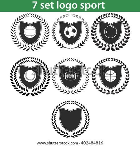 sport logo design illustration