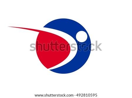 vector logo sport school free vector art at vecteezy