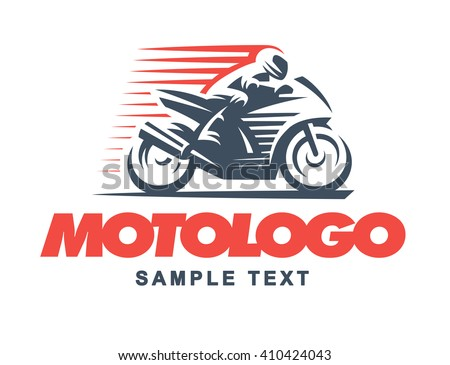 Old Fashioned Delivery Bike Emblem