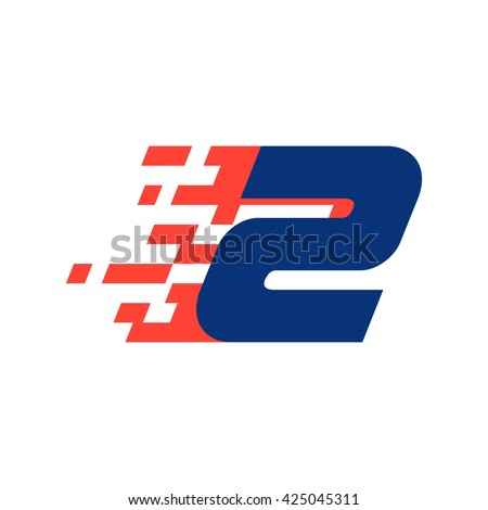 sport number two logo with