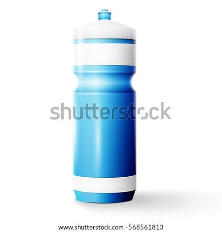 Sport nutrition drink bottle for fitness