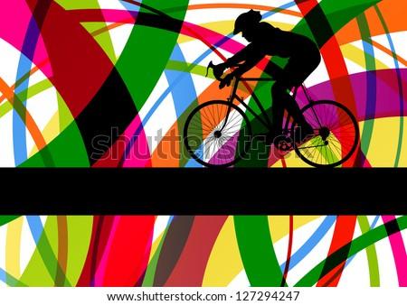 sport road bike rider bicycle