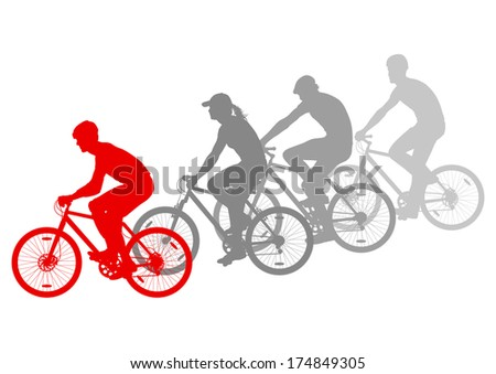 sport road bike riders bicycle
