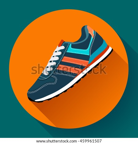 sport shoes icon fitness