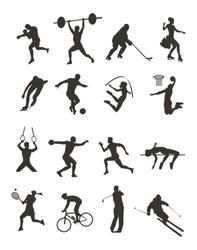 Sport - silhouette