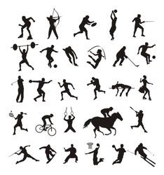 sport - silhouttes