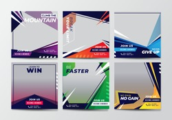 Sport Social Media Banner Template Collection