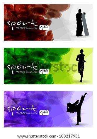 sport vector banner