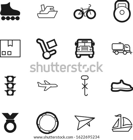sport vector icon set such as: do, hooks, freight, hook, automobile, post, weight, rosette, bike, sweeping, skate, strength, car, gift, muscle, market, fashion, victory, run, water, steel, footwear