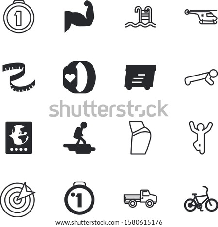 sport vector icon set such as: market, balance, bracelet, scout, website, training, ruler, view, cute, shadow, retail, red, frame, rescue, group, express, medicine, wristband, biceps, strong, postal