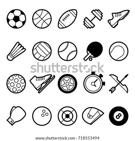Sport world symbol and icon
