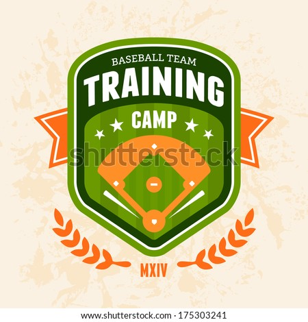 sports baseball training camp