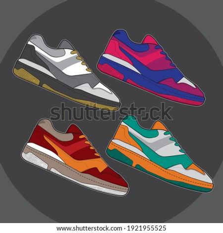 sports basketball shoes design