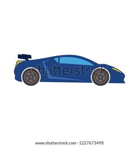 Sports car icon. vector car illustration. automotive icon - car icon