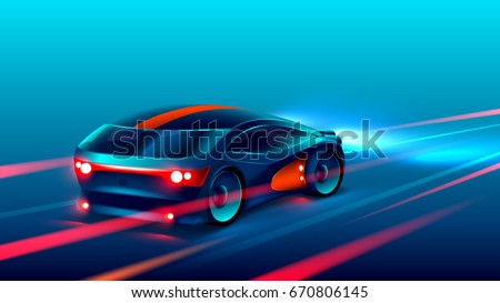 sports car racing on the