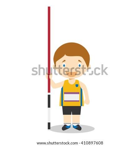 sports cartoon vector