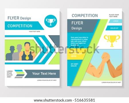 Achievement Flyer Brochure Poster Template Design Download Free