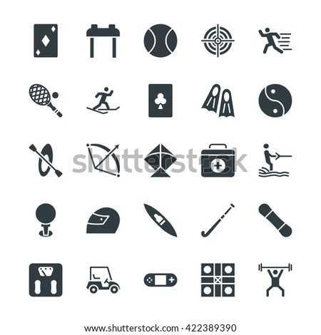 sports cool vector icons 3