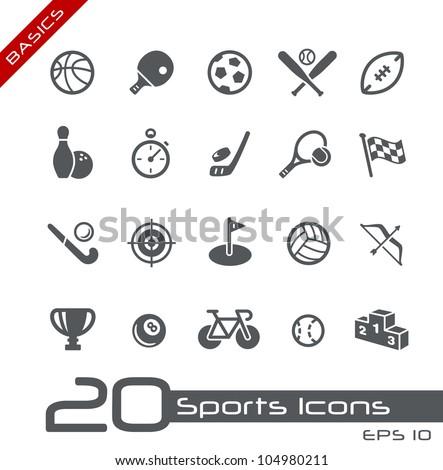 sports icons    basics