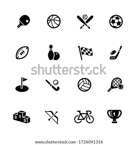Sports Icons // Black Series