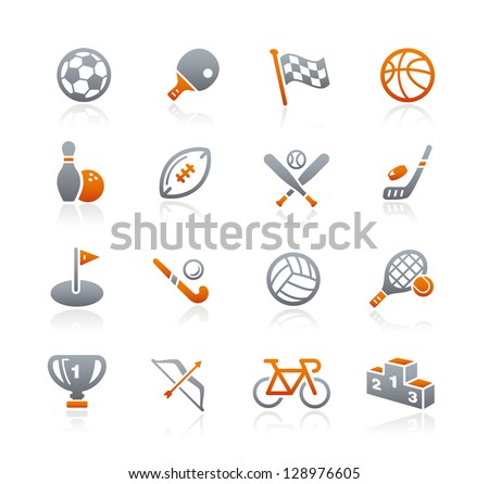 Sports Icons // Graphite Series