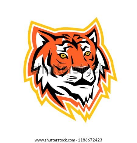 sports mascot icon illustration