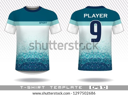 sports t shirt template. uniform design. team wear design. prints design. #1297502686
